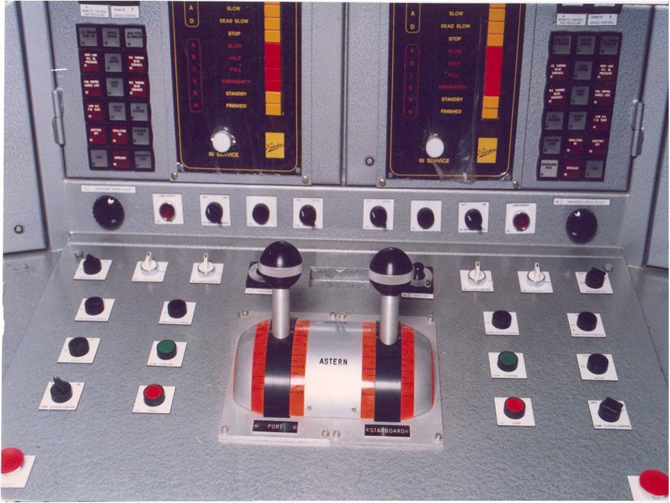 Corvette control panel 3